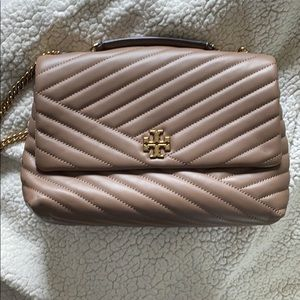 Tory Burch Kira Chevron Convertible Handbag